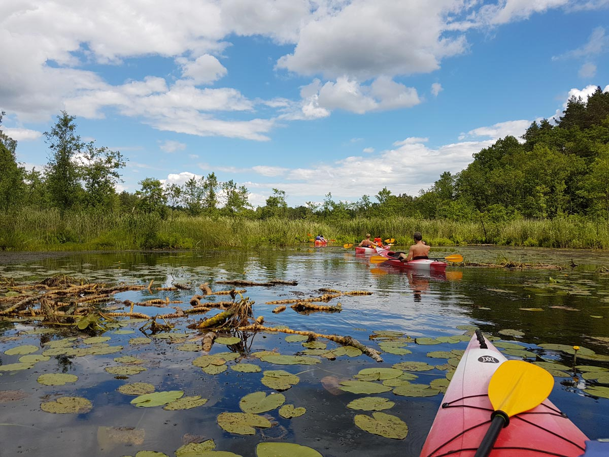 Kayaking in Latvia _ Escaperies